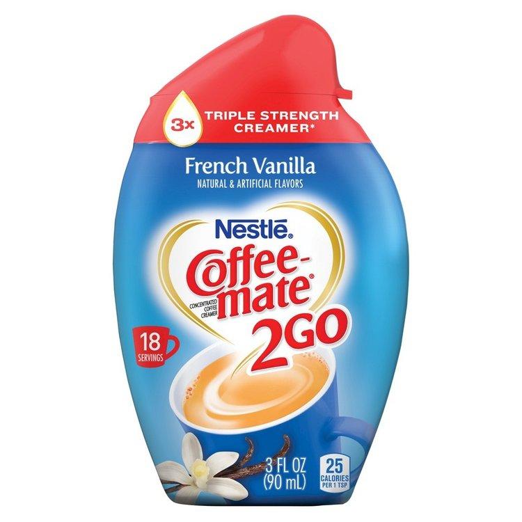 Coffee-Mate 2 Go French Vanilla Concentrated Creamer 3 oz