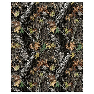 Springs Creative Mossy Oak No Sew Fleece Throw Kit