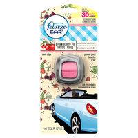 Febreze Car Vent Clip - Strawberry Fig (0.06floz)