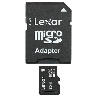 Memory Card Lexar 8GB