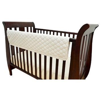 TL Care Organic Cotton Side Crib Rail Cover