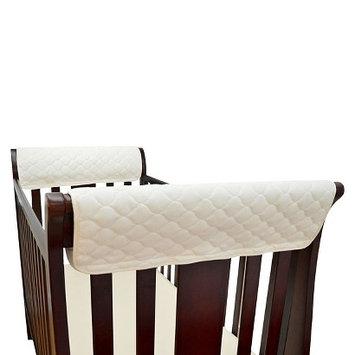 TL Care Organic Cotton Front Crib Rail Cover