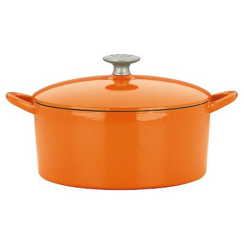 Mario Batali by Dansk 4-quart Persimmon Round Dutch Oven