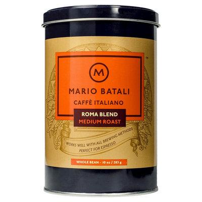 La-colombe Mario Batali Caffe Italiano Roma Blend Medium Roast Whole Bean Coffee 10 oz