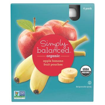 Simply Balanced Sb Squeezer Banana 3.5OZ 4PK