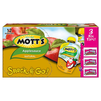 Mott's Motts Natural Applesauce 3.2oz 12 pk