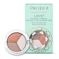 Pacifica Love 3 Natural Mineral Coconut Eye Shadow Trio