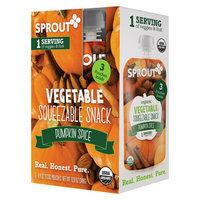 Sprout Pumpkin Spice Pouches 3pk