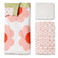 Orla Kiely 3pc Crib Bedding Set Flowers