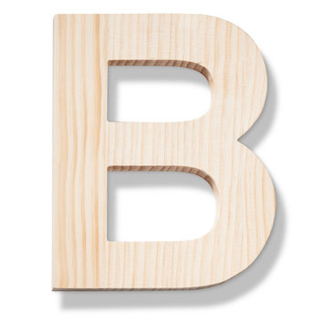 Hand Made Modern - Wood Letters - B
