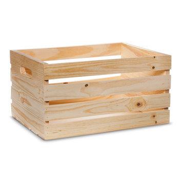 Hand Made Modern - Wooden Crate - Pine