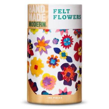 Hand Made Modern - 140ct Flowers Felt Shapes - Assorted