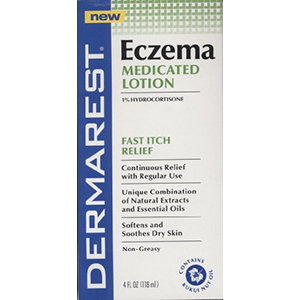 Dermarest Eczema Medicated Lotion, 4 fl oz