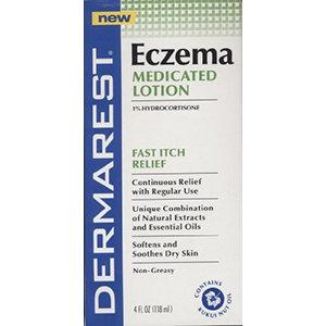 Dermarest Eczema Medicated Lotion, 4 fl oz