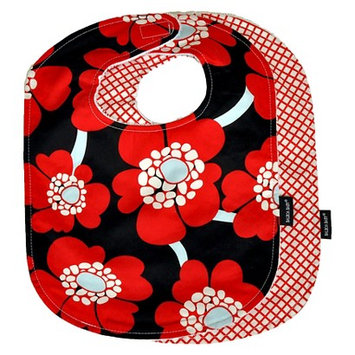 Asstd National Brand Balboa BabyA 2-Pack Bib Set in Red Poppy