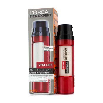 L'Oréal Paris Men Expert Vita Lift Anti-Aging Moisturizing Gel Serum (Pump)