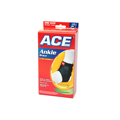 Ace Ankle Braces Ace Ankle Brace with Side Stabilizers, One Size