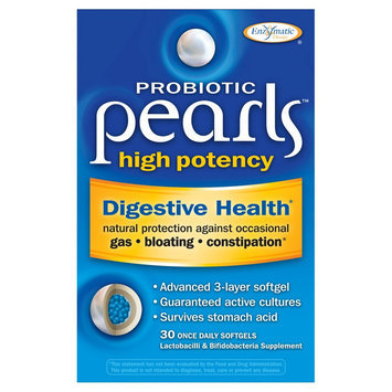 Pearls High Potency Probiotic Soft Gels - 30 Count