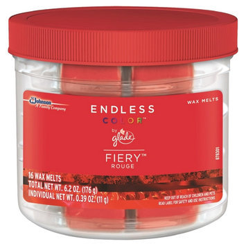 S.c. Johnson Glade Endless Color Fiery Rouge Wax Melts 16 ct, 6.2 oz