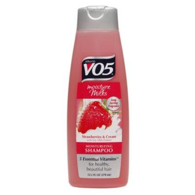 Alberto VO5 Moisture Milks Moisturizing Shampoo, Strawberries & Cream, 12.5 fl oz