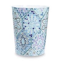Allure Home Wastebasket - Moroccan Tile