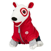Target Red Hoody Bullseye (set of 5)