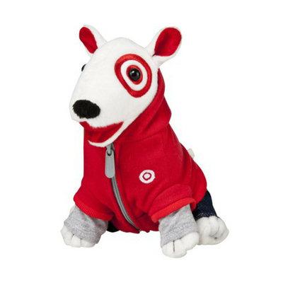 Target Red Hoody Bullseye (set of 5)