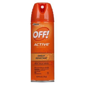 OFF Active Insect Repellant Aerosol 6oz