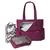Forma Diaper Tote - Berry by Skip Hop