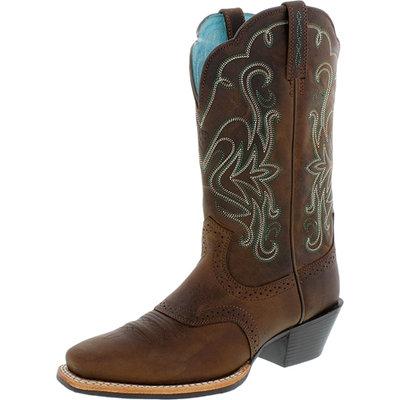 Ariat Ladies Legend Boots 7 1/2 Distressed Brown