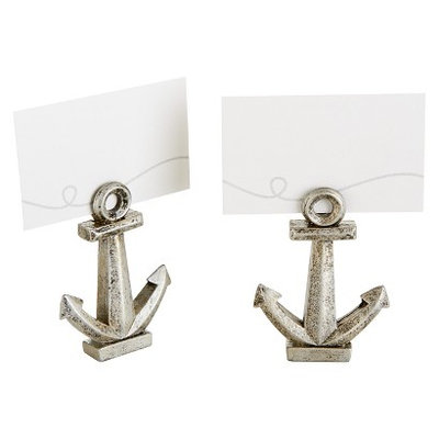 Nautical Anchor Placecard Holders Pkg/6