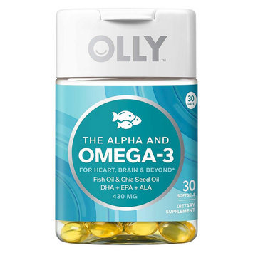 Olly The Alpha and Omega-3 Vitamin Softgels - 30 Count