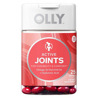 Olly Active Joints Vitamin Softgels - 25 Count