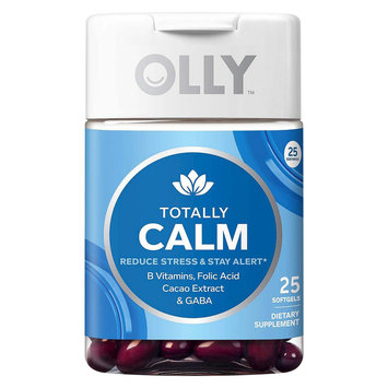 Olly Totally Calm Vitamin Softgels - 25 Count