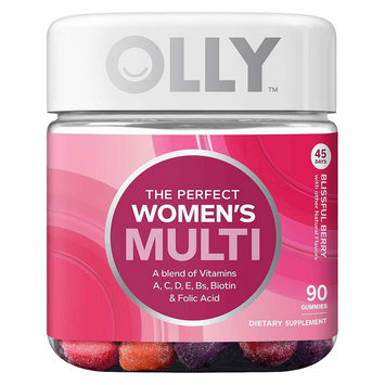 Olly The Perfect Women's Multi-Vitamin Blissful Berry Gummies