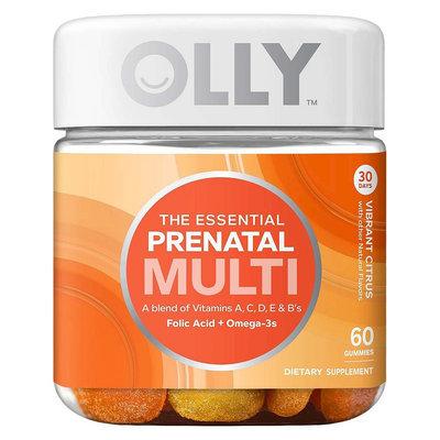 Olly The Essential Prenatal Multi-Vitamin Vibrant Citrus Gummies