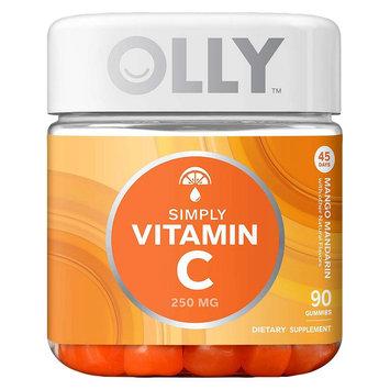 Olly Simply Vitamin C Mango Mandarin Gummies - 90 Count