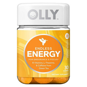 Olly Endless Energy Lemon Zinger Vitamin Gummies - 30 Count