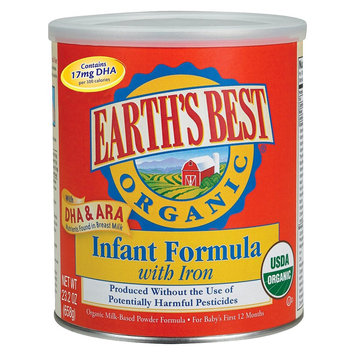 Earths Best Earth's Best Organic Milk-Based Infant Formula with Iron - 23.2oz (4 Pack)