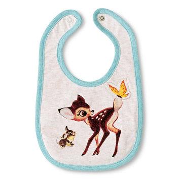 Tawil Associates Disney Newborn Bambi Bib - Oatmean Heather