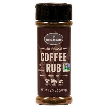 Fire & Flavor Herbs & Spices Coffee Rub 2.3 oz. IP-204