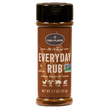 Fire & Flavor Herbs & Spices Everyday Rub 2.7 oz. IP-206