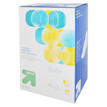 up & up Advanced Ultra Thin Regular Absorbency Pads - 36 Count