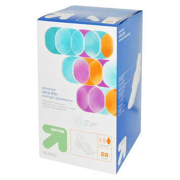up & up Maxi Pads - 28 Count