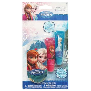 Disney .28floz Lip Gloss 2pc Princess/Frozen with Tin