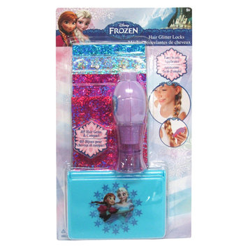 Townley Inc Disney Hair Gems Frozen/Princess with Compact and Hair Applicator
