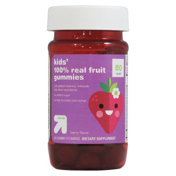 up & up Kids' 100% Real Fruit Dietary Supplement Gummies - 60 Count
