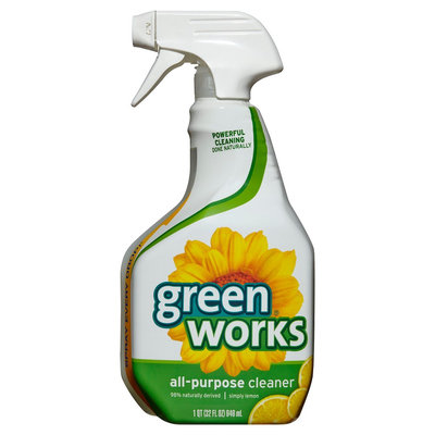 Green Works Lemon Scent All-Purpose Cleaner 32 oz