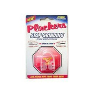 Stop Grinding 2 Pack Plackers Dental Night Protector, for People Who Grind Their Teeth