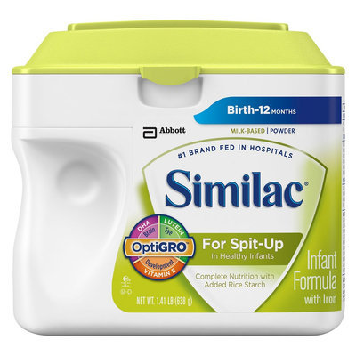 Similac For Spit-Up Infant Formula Powder - 1.41lb (6 Pack)